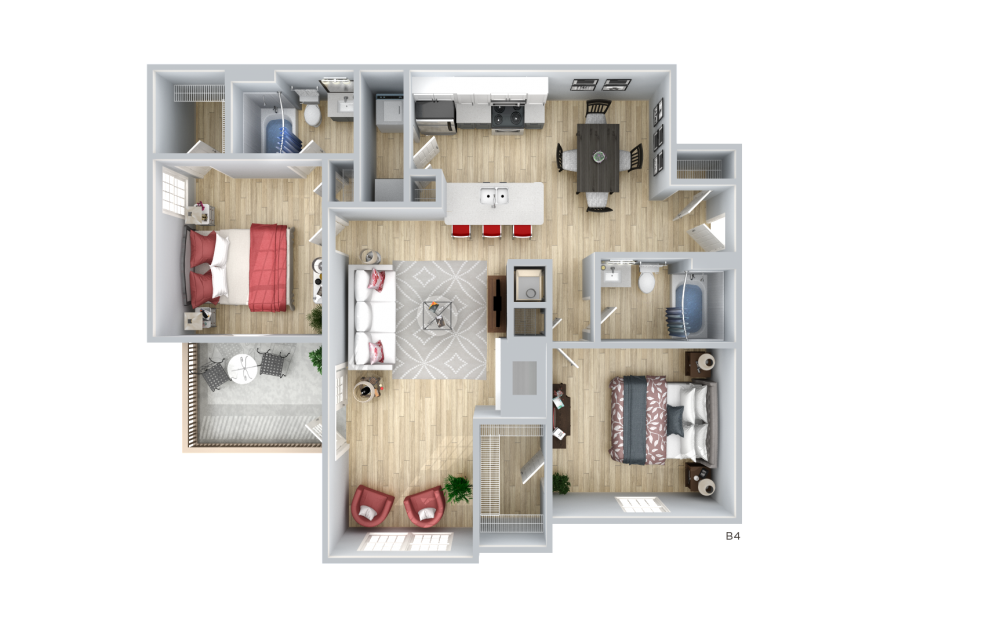 Two Bedroom Apartment by Emory in Decatur